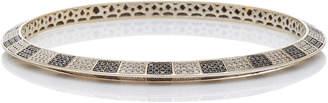 Black Diamond Ofira White & Checker Bangle