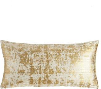 """Donna Karan Home Opal Essence Pleat-Front Pillow, 11"""" x 22"""""""