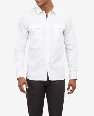 Kenneth Cole New York Kenneth Cole Men Investment Two-Pocket Shirt