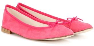 Repetto Cendrillon suede ballerinas