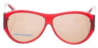 Balenciaga Oversize Translucent Sunglasses
