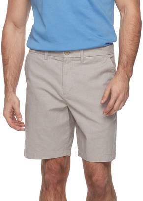 Apt. 9 Men's Regular-Fit Crosshatch Textured Stretch Shorts