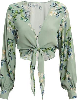 b4bfc2c1a4f51 Flynn Skye Allie Floral Crop Top