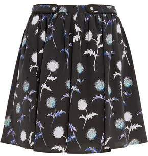Kenzo Printed Silk Mini Skirt