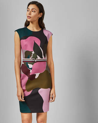 Ted Baker GININA Maple Swirl bodycon dress