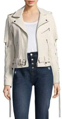 Each X Other Lace-Up Leather Jacket
