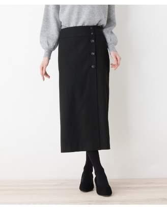 HusHusH (ハッシュアッシュ) - Ladies ボタンラップスカート