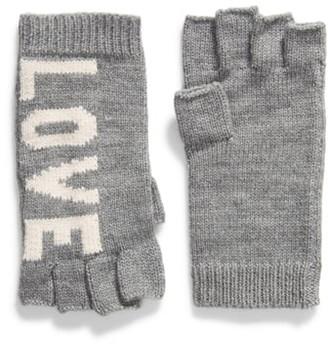 Rebecca Minkoff Stadium Fingerless Gloves