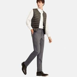 Uniqlo Men's Stretch Wool Slim-fit Flat-front Pants
