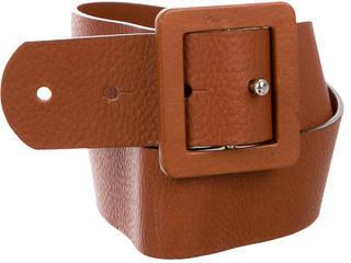 MarniMarni Leather Buckle Belt