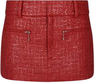 Alexander Wang Coated Tweed Skirt