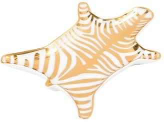 Jonathan Adler Gold Carnaby Zebra Stacking Dish