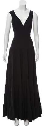 Balenciaga Sleeveless Maxi Dress