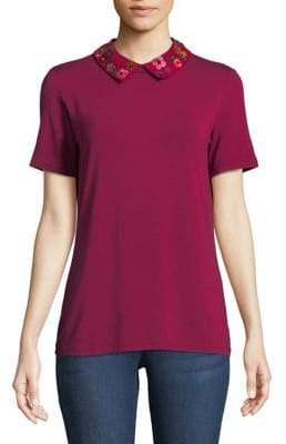 Max Mara Tresa Knit Collared Top