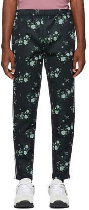 Kenzo Navy Cheongsam Cropped Lounge Pants