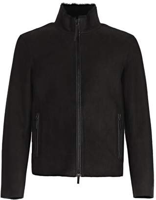 Emporio Armani Band Collar Jacket