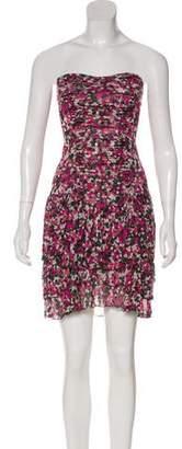 Diane von Furstenberg Elka Strapless Dress