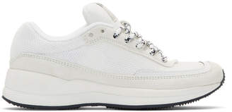 A.P.C. White Mesh Sneakers