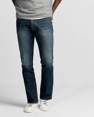 Express Slim Medium Wash Stretch Jeans