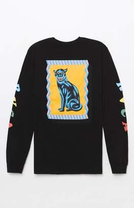 RVCA x Luke Pelletier Panther Long Sleeve T-Shirt