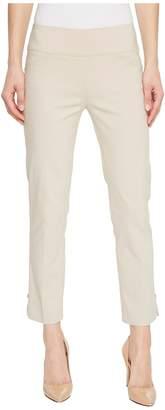 Elliott Lauren Pull-On Crop Pants with Side Slit Rivet Detail Women's Casual Pants