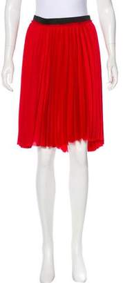 Enza Costa Pleated Knee-Length Skirt w/ Tags