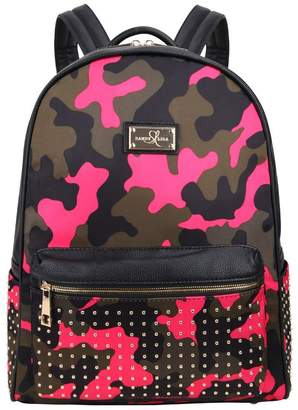 Sandy Lisa Soho Camo Backpack with Laptop Sleeve