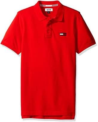 Tommy Hilfiger Men's Basic Big Flag Polo Short Sleeve