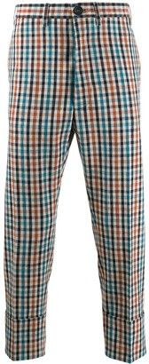 Vivienne Westwood check trousers