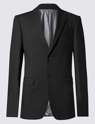 Marks and Spencer Black Tailored Fit Jacket