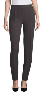 Armani Collezioni Solid Pleated Pants $595 thestylecure.com