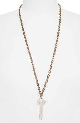 The Giving Keys I Am Brave Key Charm Necklace