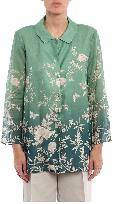 Max MaraMax Mara Lora Floral Shirt In Ramiè