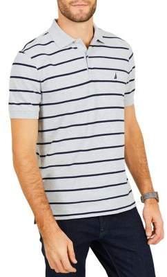 Nautica Classic-Fit Performance Striped Polo Shirt