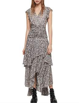 AllSaints Caris Kara Long Dress