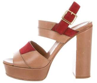 22aea04baa34c2 Pre-Owned at TheRealReal · Chloé Leather Platform Sandals