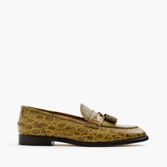 Biella loafers in crocodile-embossed leather $368 thestylecure.com