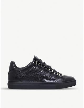 Balenciaga Arena leather trainers