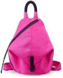 KENDALL + KYLIE Mini Koenji Textured Asymmetric Backpack
