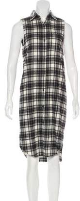 Jenni Kayne Plaid Midi Dress