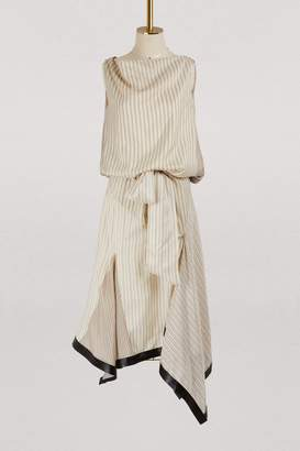 J.W.Anderson Silk midi dress