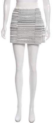 A.L.C. Knit Mini Skirt