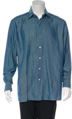 Tom Ford Pinstripe French Cuff Shirt