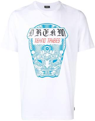 Diesel graphic print T-shirtc