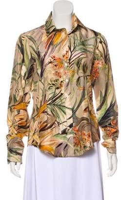 Pauw Silk Floral Top