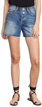 Habitual Maddie High Rise Raw Edge Denim Shorts