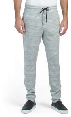 Double Knit Zip Bottom Joggers