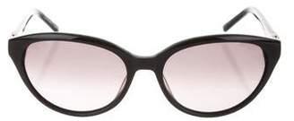 Judith Leiber Cat-Eye Embellished Sunglasses
