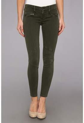 AG Adriano Goldschmied The Moto Legging in Sulfur Dark Autumn Olive Women's Casual Pants