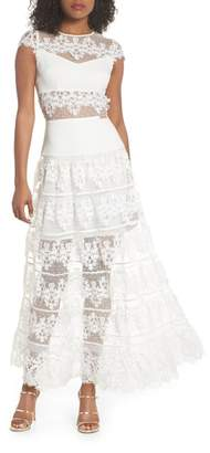 Bronx AND BANCO Flamenco Lace Inset Gown
